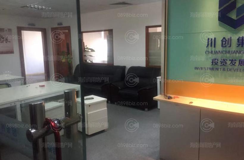 嘉陵国际大厦 384㎡ 精装 朝西南  中层办公