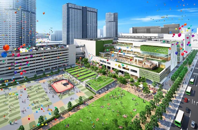 """日本""""国家战略特区""""——有明花园是如何建成的?"""