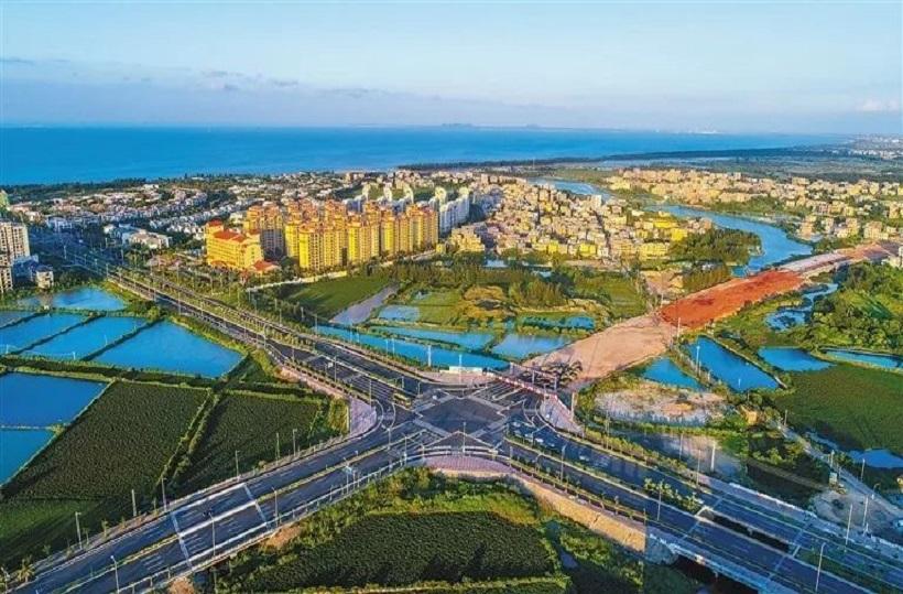 江东新区迈雅滨河商务区11条市政道路即将开工!