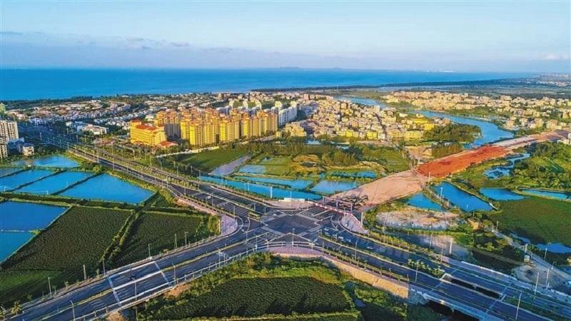 海口江东新区总部经济区39家企业签约落地